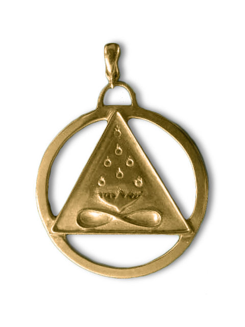 Cosmic Trinity Medallion Large