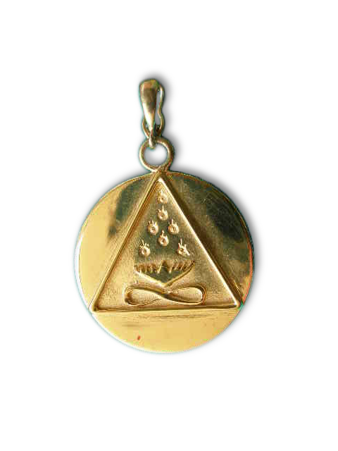 Cosmic Trinity Medallion Small