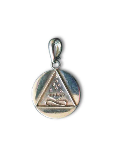 Small Cosmic Trinity Medallion