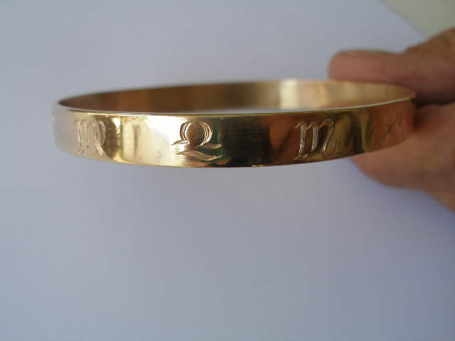 WEB Zodiac Bangle