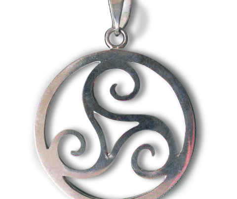 Large Triscale Medallions (Silver)